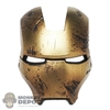 Mask: Hot Toys Damaged Iron Man Mark VII Faceplate