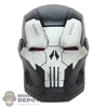 Head: Hot Toys The Punisher War Machine Armor Light Up Head