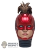 Head: Hot Toys LED Captain Marvel w/Mohawk