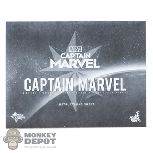 Tool: Hot Toys 1:1 Captain Marvel Instructions