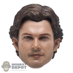 Head: Hot Toys Han Solo w/Removable Hair