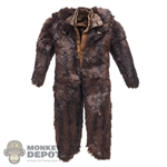 Coat: Hot Toys Mink-Like Jacket w/Suede-Like Inner-Layered Jacket
