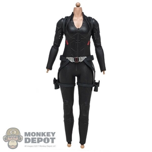 Figure: Hot Toys Endgame Black Widow w/Shoulder Harness + Belt and Holsters