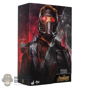 Display Box: Hot Toys Avengers: Infinity War Star-Lord (Empty Box)