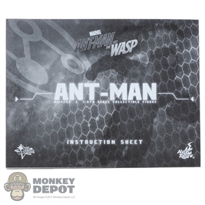 Tool: Hot Toys 1:1 Ant-Man and The Wasp: Ant-Man Instructions