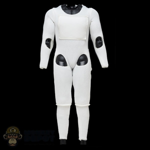 Suit: Hot Toys Mens White Padded Suit