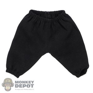 Shorts: Hot Toys Black Baggy Shorts