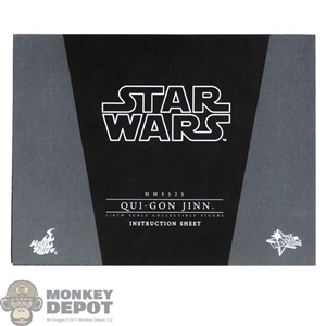 Tool: Hot Toys 1:1 Qui-Gon Jinn Instructions