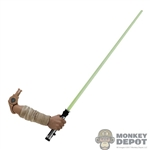Arm: Hot Toys Qui-Gon Jinn Arm w/Lightsaber Blade