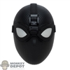 Head: Hot Toys Stealth Suit Spider-Man Head w/Interchangeable Eyes