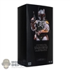 Display Box: Hot Toys The Empire Strikes 40th Anniversary Boba Fett (Deluxe Version) (906324) (EMPTY BOX)