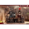 HY Toys Empire Legion-Empire Gladiator, Imperial Female Warrior Set of Red (HY-HH18019)