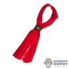 Scarf: HY Toys Red Roman Scarf