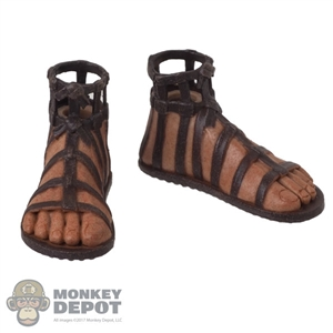 Shoes: HY Toys Mens Sandals w/Feet