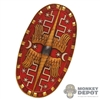Shield: HY Toys Oval Roman Shield