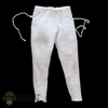 Pants: HY Toys Mens White Weathered Pants