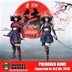 "Boxed Figure: I8Toys Female Samurai ""RIN"" (I8-001)"