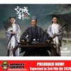 In Flames Zhuge Liang Older Deluxe Version w/Empty City + War Wagon (IFT-043)