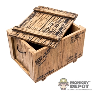 Box: IHNS Toys Wooden Crate