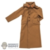 Coat: IQO Model Mens Japanese Tan Rain Jacket