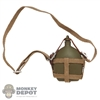 Canteen: IQO Model WWII Japanese Water Kettle w/Carrier (Metal)