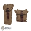 Pouch: IQO Model Japanese WWII Canvas Pouch Set