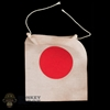 Flag: IQO Model Japanese Flag w/String