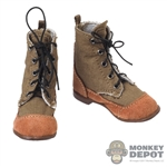 Boots: IQO Model WWII Japanese Cloth Boots