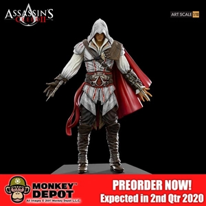 Statue: Iron Studios 1/10th Ezio Auditore (905194)
