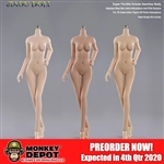 Jiaou Doll Asian Seamless Action Figure Body (JOQ-05B)