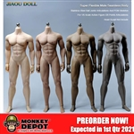 Jiaou Doll Strong Seamless Male Body w/Detachable Feet (4 Skin Tone)