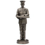 Statue: 1/6 Khaki Army Marine Honor Guard Bronze Statue