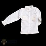 Shirt: KadHobby Japanese White Collarless Shirt (Color Aged)