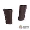 Armor: Kaustic Plastik Male Leather Forearm Guards