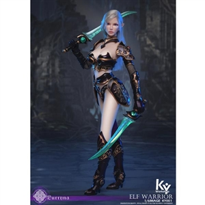 KY Workshop Elf Female Soldier Burryna - Black (KY-001) (TWO VERSIONS)