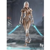 KY Workshop Elf Female Soldier Burryna - Silver (KY-002)