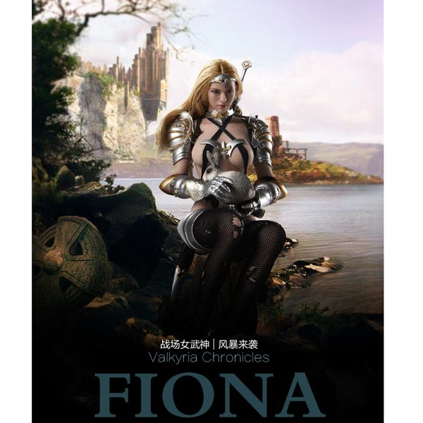 "1//6th Figure Accessory Lucifer Fiona Arm Armor Model For 12/"" Female Body Doll"