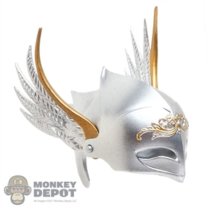 Helmet: Lucifer Wings of Dawn w/Moveable Face Shield