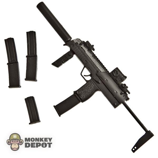 Rifle: Sideshow HK MP7 w/Silencer, Mags