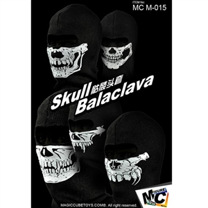 Balacava Set: Magic Cube 1/6 Skull 5 Pieces (MCM-015)