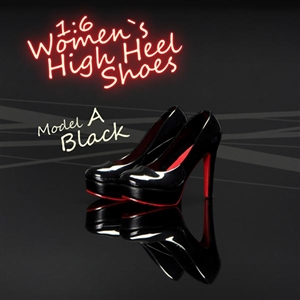 Shoes: Magic Cube Black Women`s High Heel Shoes (MCP-052A)