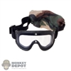 Mask: Magic Cube Clear Lens Goggles