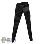 Pants: Magic Cube Female Leather-Like Pants