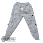 Pants: Magic Cube Mens Grey Tear-Away Sweatpants