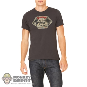 "Monkey Depot Shirt: Mens 2015 ""Hot Rod Monkey"" Shirt"
