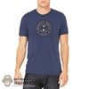 Monkey Depot Shirt: Mens Blue Monkey Crew T-Shirt