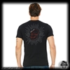 Monkey Shirt: Mens Monkey Edge Skull - Black