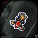 Patch: Monkey Edge Monkey With A Football Patch (1:1 Scale)