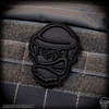 Patch: Monkey Depot Embroidered Maverick Monkey - Blackout