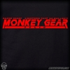 Monkey Depot Shirt: Mens Monkey Gear Solid - Black
